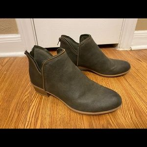 Chic Olive Bootie